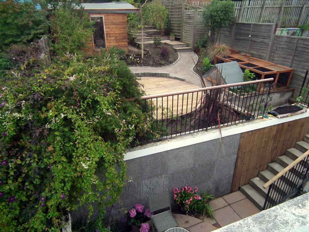 Landscape Garden Design Edinburgh Gamekeeper road edinburgh