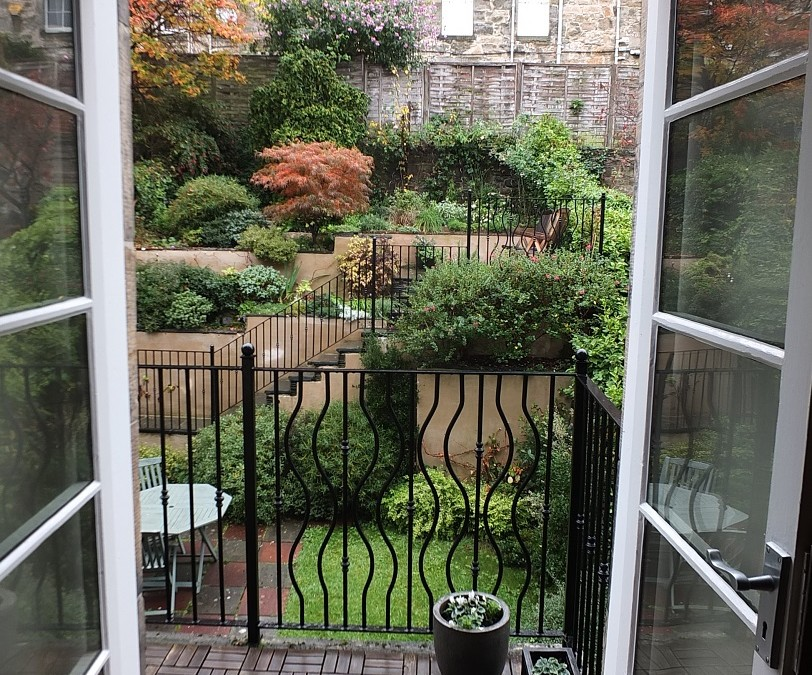 Edinburgh Stockbridge rear garden transformed