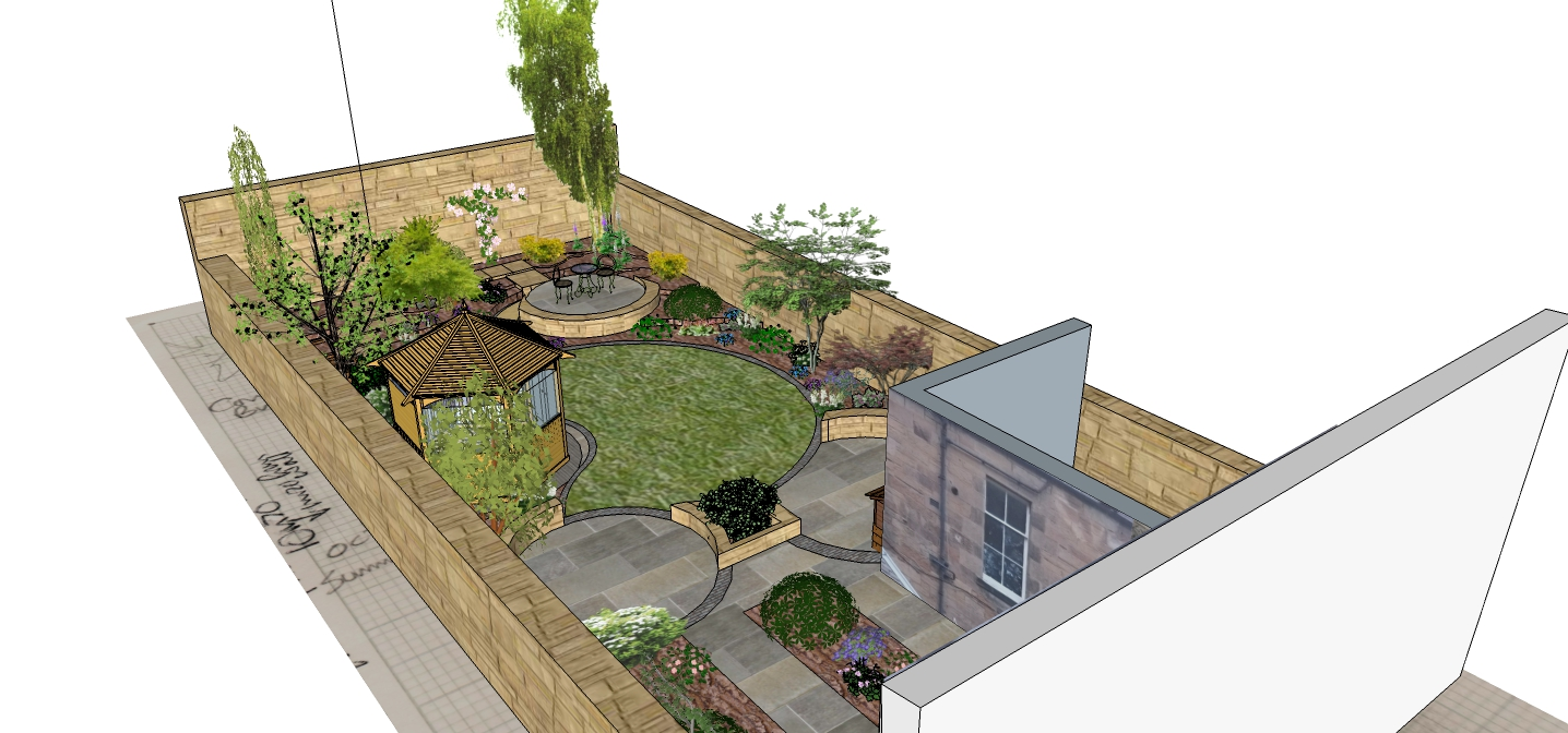 strathearn place 3d garden design model 8