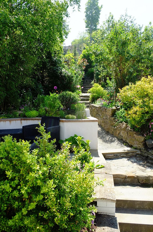 Mediterranean garden Edinburgh